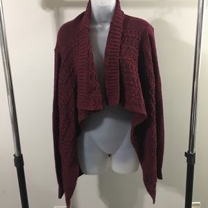 AMERICAN EAGLE | open front cardigan